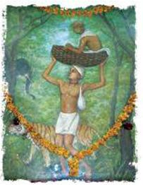 Jagannatha-dasa-Babaji-in-basket